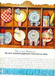 Click here to enlarge image and see more about item Z6742: Bond Ware paperware ad Kitchen PAPER Items