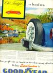 Goodyear deluxe super cushion tires ad 1953