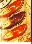 1953 Jarman Men's SHOE AD Design VINTAGE