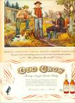Old Crow bourbon whiskey ad 1953