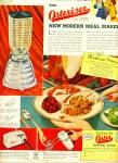 Osterizer original liquefier-blender ad 1953