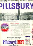 Click here to enlarge image and see more about item Z6862: Pillsbury's best flour ad 1953