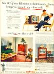 Click here to enlarge image and see more about item Z6867: RCA Victor television ad 1953