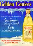 Click to view larger image of Seagram's golden coolers - Gin ad 1950 (Image2)