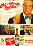 Click here to enlarge image and see more about item Z6887: Blatz Beer - DAN DURYEA  ad 1950