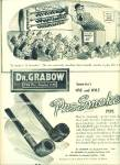 Dr. Grabow, the pre smoked pipe ad