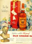 Click here to enlarge image and see more about item Z6937: Old Grand Dad  bourbon whiskey ad 1959