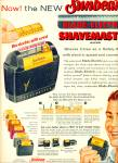 Click here to enlarge image and see more about item Z6949: Sunbeam blade-electric shave razor AD