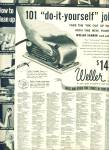 Weller Sander and polisher ad 1955