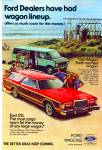 Click here to enlarge image and see more about item Z6986: Ford wagons ad 1978
