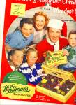 Click here to enlarge image and see more about item Z7040: 1951 Whitman's Chocolates - BOB CROSBY  AD