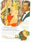 Click here to enlarge image and see more about item Z7124: 1947 Drene shampoo AD ARLENE DAHLMAN Model
