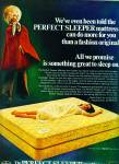 Click here to enlarge image and see more about item Z7211: 1969 Serta - Perfect Mattress AD COOL Retro