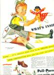 Click here to enlarge image and see more about item Z7283: 1944 Poll-Parrot and Star Brand SHOES AD
