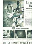 Click here to enlarge image and see more about item Z7287: 1944 US Rubber AD NURSE Artwork Patterson