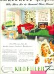 1944 KROEHLER Furniture AD BRIDE WWII Soldier