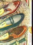 1957 Jarman Men's SHOE AD Design VINTAGE
