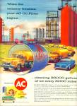 1957 AC oil filter AD Oil Refinery ARTWORK