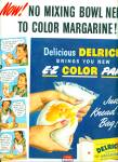 Delrich vegetable margarine ad 1947