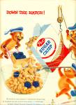 Click here to enlarge image and see more about item Z7439: 1955 Post Sugar Crisp AD SAILOR BEARS