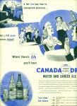 Click here to enlarge image and see more about item Z7477: 1945 Canada Dry  water and Ginger ale AD