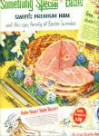 1952 Swift's premium ham  ad Gay Easter AD