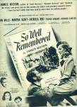 1947 Movie AD : So Well Remembered - John Mills
