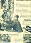 The Milwaukee Road Train line ad 1947