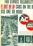 AC quality products ad 1952
