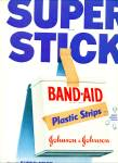 Band aid pastic strips ad 1955