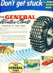 General Winter cleat tire ad 1955