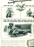 Click here to enlarge image and see more about item Z7674: 1946 Ford Motor AD SPRING TUNE UP Promo