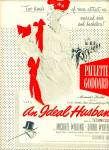 1948 Movie AD Ideal Husband  VERTES Goddard