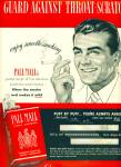 1950 Pall Mall cigarettes AD Smoking MAN