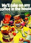 Sanka Freeze dried coffee ad 1972