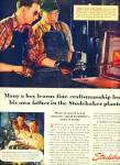 1946 STUDEBAKER Car AD Anthony Shick PLANT #2