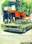 1964 Pontiac Grand Prix Car Ad VK art