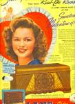Click here to enlarge image and see more about item Z7975: 1948 Lane Cedar chest AD - SHIRLEY TEMPLE