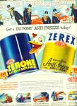 Click here to enlarge image and see more about item Z7987: 1948 Zerone - Zerex AD ALPHONSE GASTON