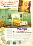 Fir-Tex color panels ad 1942