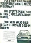 Fiat automobile  ad