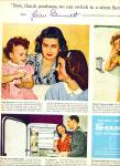 1946 Scott Soft Weve AD JOAN BENNETT Actress