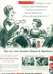 1956 Chase & Sanborn AD WHITNEY DARROW ART