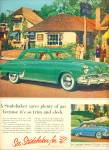 1952 Studebaker COMMANDER Car Promo AD