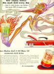 Shell X-100 Motor OIL AD ARTZYBASHEFF ART