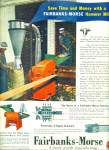 Click here to enlarge image and see more about item Z8105: Fairbanks-Morse hammer mill ad 1945