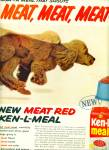 Click here to enlarge image and see more about item Z8142: Ken-L Meal ad 1959 - dog food