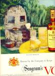 1951 Seagram's VO Canadian whisky AD BBQ #2
