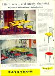 Click here to enlarge image and see more about item Z8277: Daystrom furnitre ad 1952