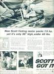 Scott fishing motor ad 1960